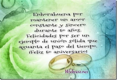 feliz aniversario de bodas oro un hijo cancionrs frases cortas para dedicar en bodas de oro frases amor