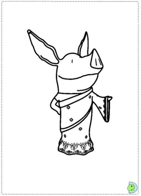 olivia coloring pages to download and print for free