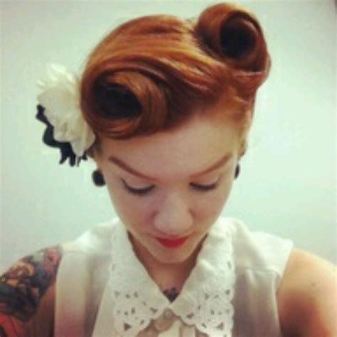 Victory Roll Hairstyle by Victory Rolls My Style