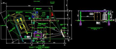 pump station dwg detail  autocad designs cad