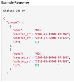 tutorial json html json example alisen berde