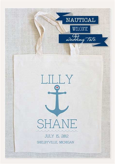 tote   cute little sail away favor bag for guests  put