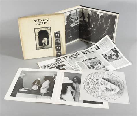 Wedding Album Lennon Vinyl by Lennon And Yoko Ono The Wedding Album 1969 L The