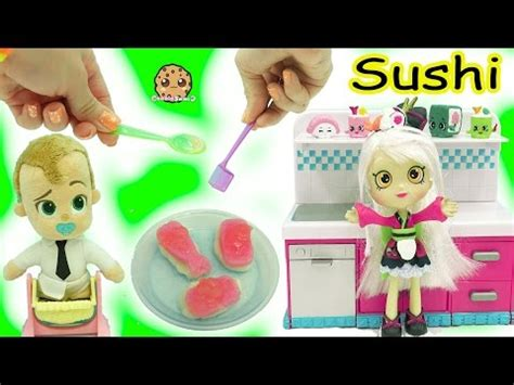 shoppies doll cooks the boss baby yummy nummies kitchen