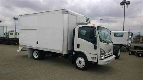 Box Truk Freezer isuzu npr hd 14ft box vending beverage delivery w freezer compartment cold plate