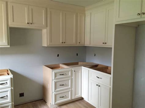 kitchen cabinet install kitchen cabinet install how to install crown molding on