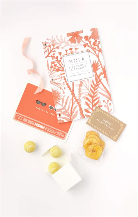 wedding welcome box julep tropical wedding welcome gift and diy treat bags julep