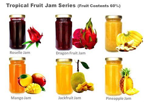fruit jam tropical fruits jam