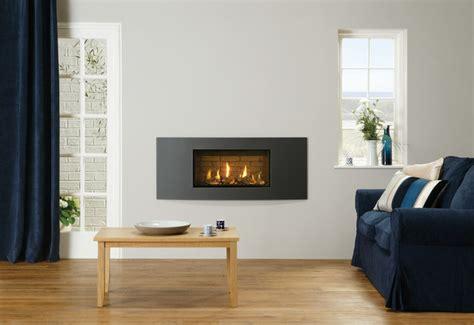 Slimline Gas Fireplace by Gazco Studio Slimline Gas Fireplace Modern Indoor