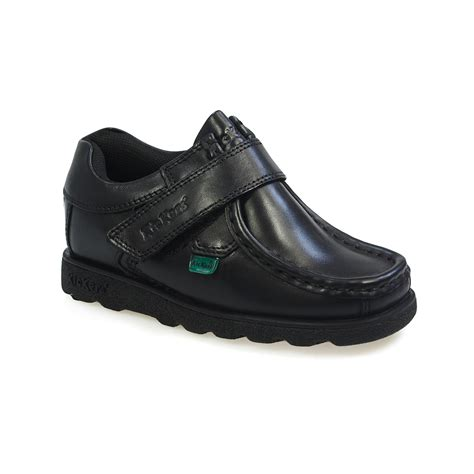 size 12 kid shoes kickers fragma youth junior school black