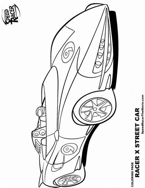 lego racers coloring pages speed racer coloring page coloring home