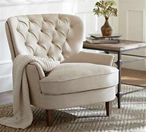 Upholstered Armchairs Living Room by Home Pottery Barn Living Room Sale Save Up To 30 On