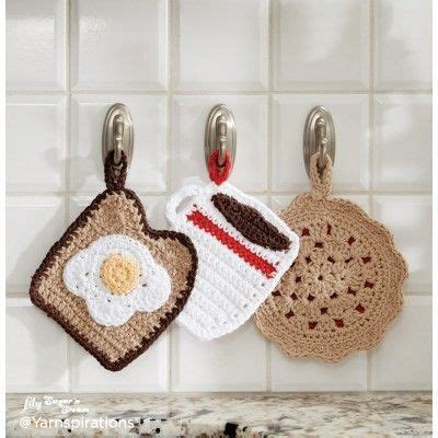 crochet home decor 25 best ideas about crochet potholders on pinterest