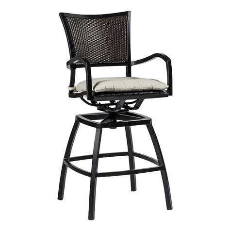 Swivel Patio Chairs By Foremost by Aire Swivel Barstool Outdoor Furniture Bar Stools Chairs