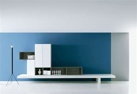 3 modern wall living room contemporary living room wall unit by piero