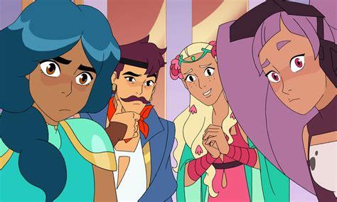 ra  princesses  power cast  super