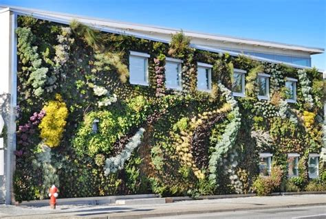 Vertical Garden Vancouver - sprouting building strange architecture pinterest building and architecture