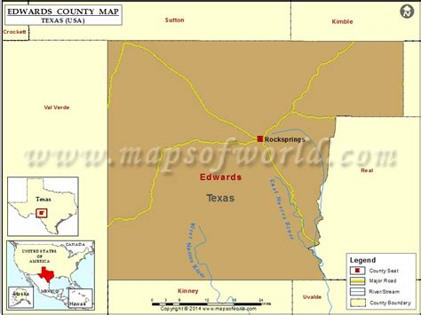 edwards county texas map edwards county map texas