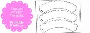 Free Printable Cupcake Template by Cupcake Wrapper Template Printable Treats