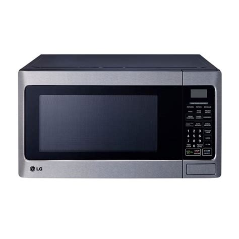 lg electronics 1 1 cu ft countertop microwave in