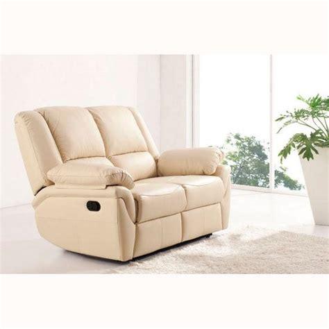 2 seater cream leather sofa cream leather 2 seater sofa homehighlight co uk