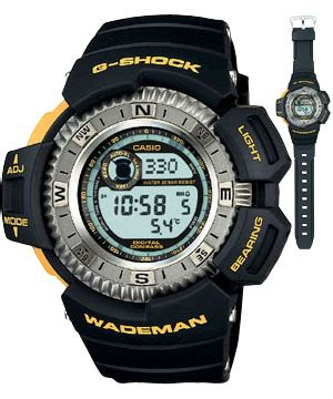 browse all casio g shock wademan photos