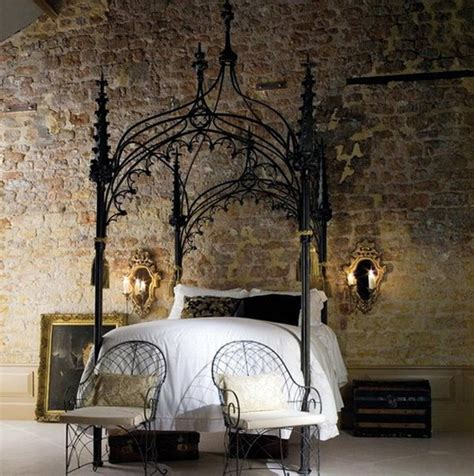 gothic interiors 13 mysterious gothic bedroom interior design ideas