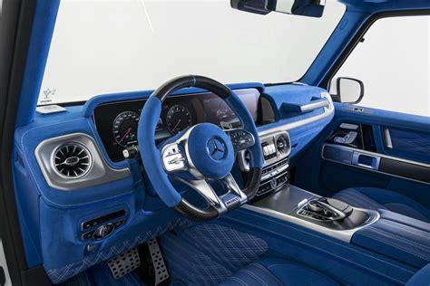 mercedes  amg blue interior  luxuryplaycom