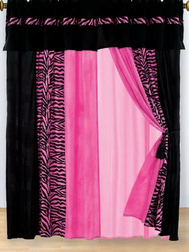 hot pink bedroom curtains zebra bedroom decorating ideas to inspire wow