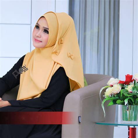 jual jilbab flowing instant ribboni murah bababeli