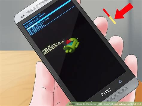 reset htc android phone locked how to reset a htc smartphone when locked out 8 steps