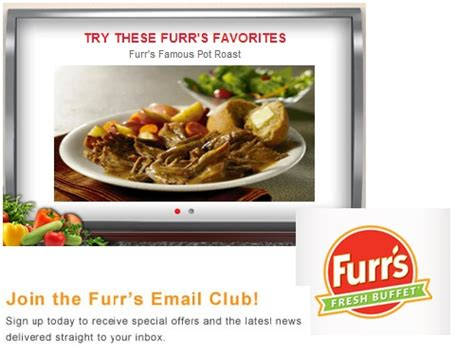 furr s buffet coupons get 3 00 any order of 10 or more at furr s fresh buffet blissxo