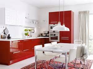 cuisine ikea metod le nouveau syst 232 me de cuisine ikea pictures of kitchens modern red kitchen cabinets
