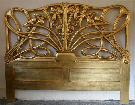 art nouveau headboard 494 best art nouveau furniture furnishings images on
