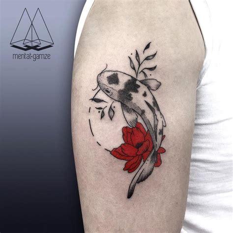 flower tattoo redone red ink flower tattoo www pixshark com images