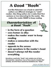 Exles Of A Hook In An Essay by Make It Interesting For The Reader A Simple Writing Strategy Week 4
