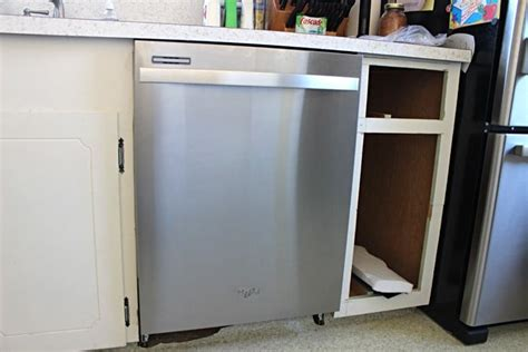 install a dishwasher in an existing kitchen cabinet adding a dishwasher to existing cabinets