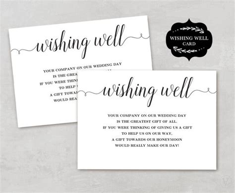 wishing well card template wishing well card template printable wishing well card diy