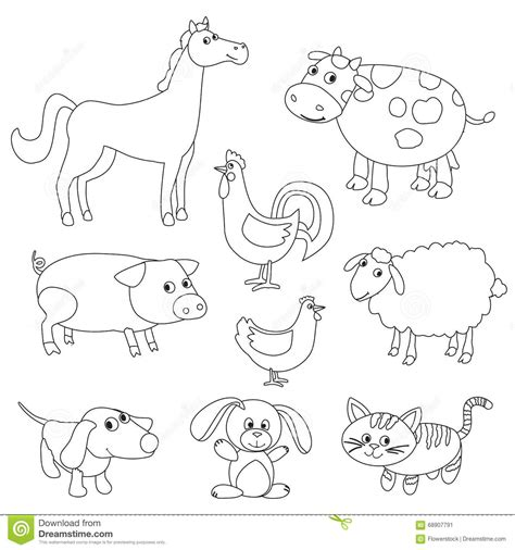 Farm Animals Coloring Download Farm Animals Coloring Farm Animals Coloring Pages For Printable