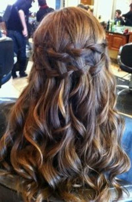 hairstyles curls prom prom hairstyles with braids and curls