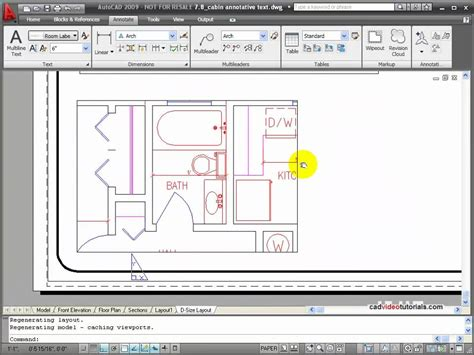 autocad tutorial annotative text autocad tutorials using text styles and the text style