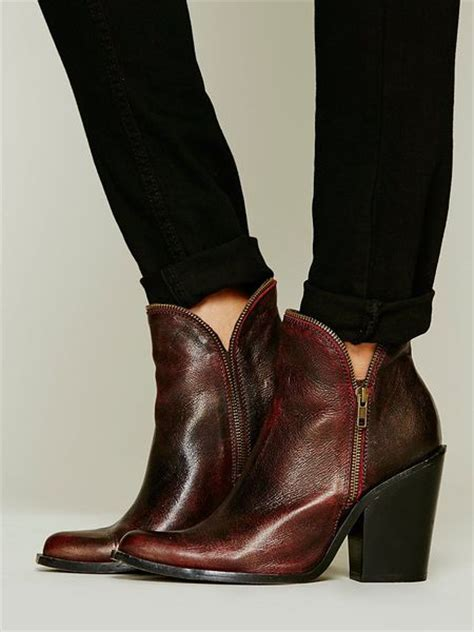 jeffrey cbell ankle boot in wine lyst