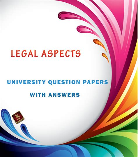 Mba Notes Corner by Aspects Question Papers With Answers