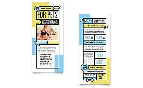 pages rack card template free rack card templates rack card designs