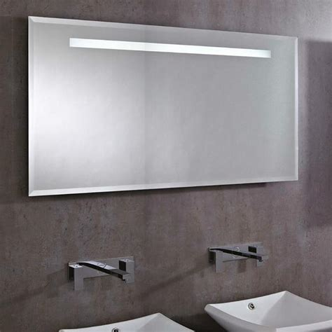 large bathroom mirrors uk phoenix pluto large rectangular heated demist led bathroom