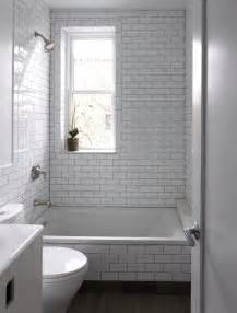 White Subway Tile Bathroom Ideas 26 White Bathroom Tile With Grey Grout Ideas And Pictures