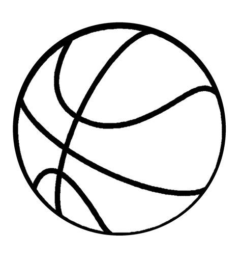 free coloring pages of a basket ball