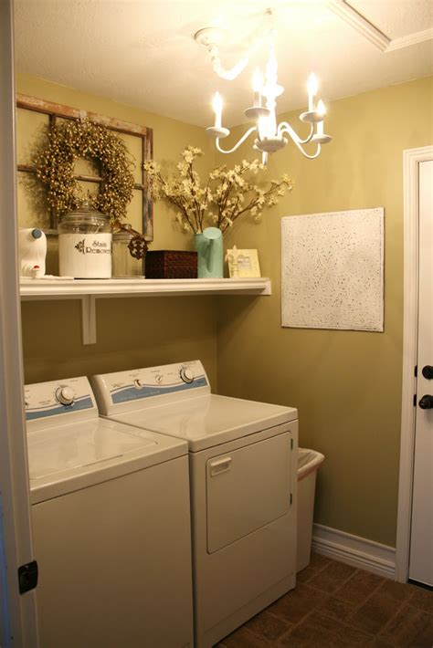 decorating a laundry room sassy home tour the laundry room