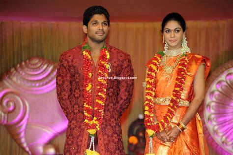 allu arjun wedding images see once allu arjun s wedding photos
