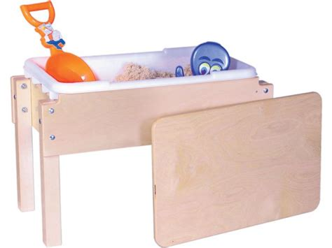 how to sand a table junior wooden sand and water table with lid 28x15 quot sand